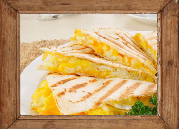 """Best Tasting"" Breakfast Quesadilla Recipe"