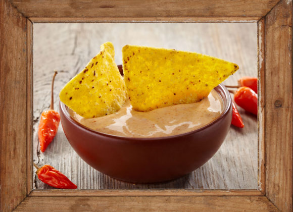 My Nana's Creamy Hot Sauce Chip Dip