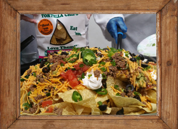 My Nana's Simple & Easy Party Nachos