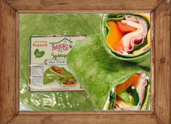 Deli Meat Spinach Wrap